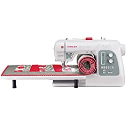 SINGER | Modern Quilter 8500Q Computerized Portable Sewing and Quilting Machine Including Extension Table, Bonus Accessories & Knee Lifter, LCD Screen, Best Sewing Machine for Quilting