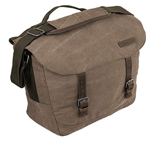 Highlander Calton Messenger Bag, 44 cm, 18 Liters, Brown