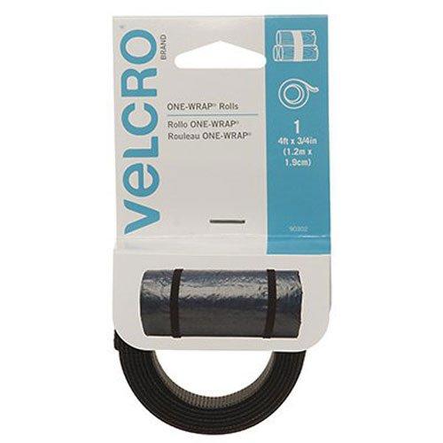 "VELCRO Brand One-Wrap Straps 3/4""X4""-Black"