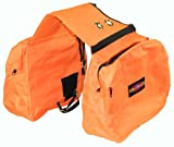 Hamilton Versa-Packs Equine Heavy Duty Saddlebag, Large, Orange