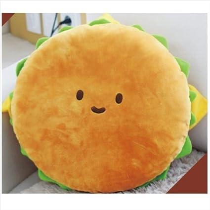 Amazon.com: kpt – hamburguesa cojín de felpa 16 algodón ...