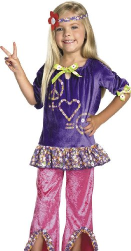 Hippy Girl Costume (Size 3t-4t)