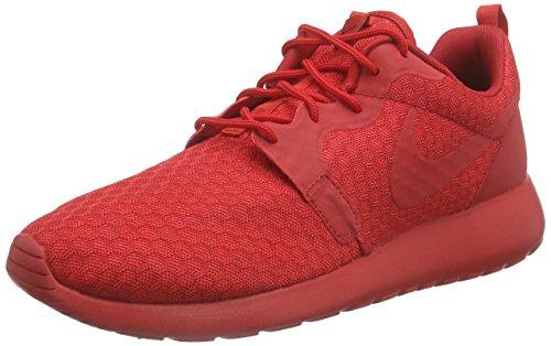 Nike Roshe One Hyperfuse Herren Sneakers Rot (UNIVERSITY RED/UNVRSTY RED-BLK)