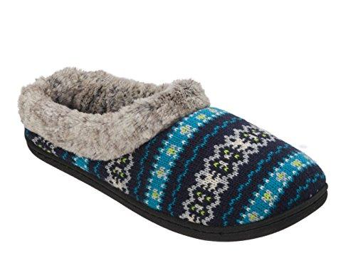 Women's Dearfoams Knit Clog Memory Foam Slipper