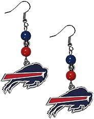 Siskiyou Sports NFL Buffalo Bills Fan Bead Dangle Earrings