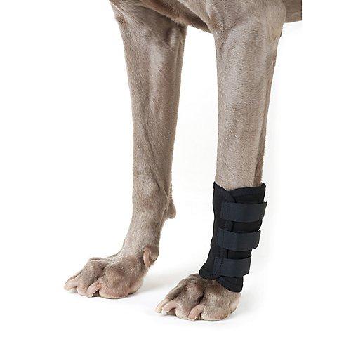 Back on Track Therapeutic Dog Leg Wraps Medium - Fabric Mix Track
