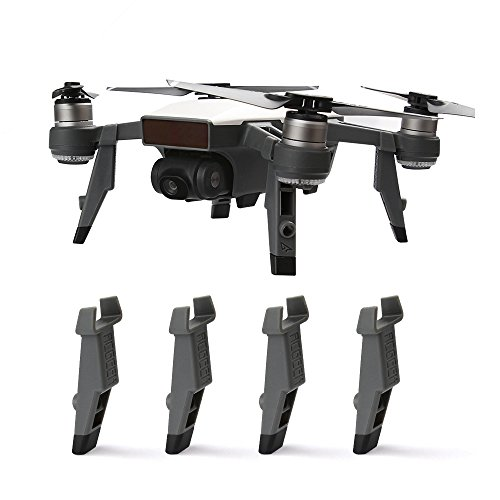 RCstyle Landing Gear Leg Height Extender Kit Riser Set Compatible with DJI Spark Stabilizers