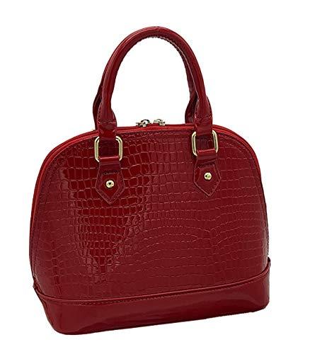 Large Granate Roja Para Mujer Yan Al Bolso Show Rosa Hombro 0nxwzq8wH