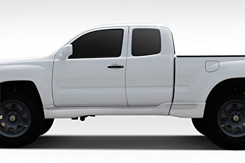 Duraflex Replacement for 2005-2010 Toyota Tacoma Extended Cab BT-1 Side Skirt Rocker Panels - 4 Piece