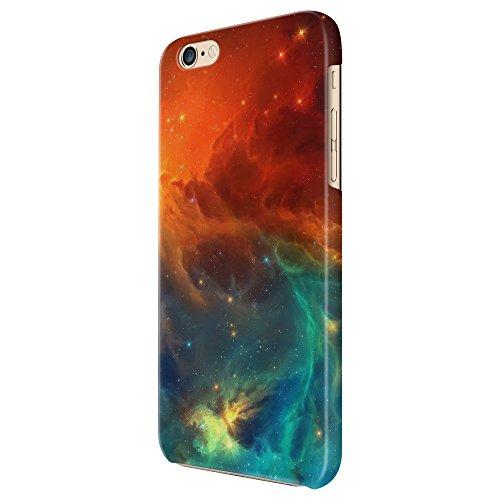Cover Custodia Protettiva Galassia Universe Stars Red Versus Blue Nebula Case Iphone 4/4S/5/5S/5SE/5C/6/6S/6plus/6s plus Samsung S3/S3neo/S4/S4mini/S5/S5mini/S6/note