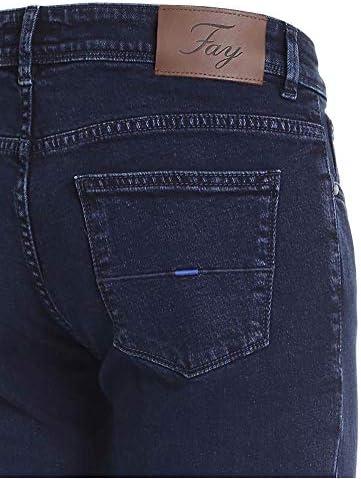 Fay Mode De Homme NTM8241197LSHR3170 Bleu Coton Jeans | Automne-Hiver 20