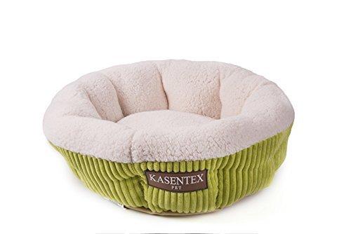 Kasentex KA008 Pet Bed, 19.5″ x 19.5″ x 7″, Green