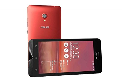 ASUS ZENFONE 6 A601CG 6″ Android 4.3 16GB Dual-SIM Smartphone (Red) – International Version No Warranty