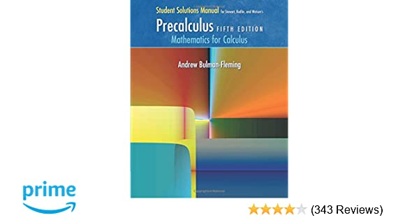 Student solutions manual for stewartredlinwatsons precalculus student solutions manual for stewartredlinwatsons precalculus mathematics for calculus 5th james stewart lothar redlin saleem watson 9780534492908 fandeluxe Image collections