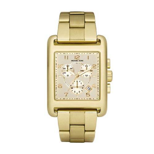 Amazon.com: Michael Kors MK5436 Ladies Jet Set Gold Plated Chronograph Watch: Watches