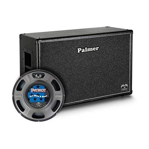 Palmer guitarras Box 2 x 12 con Eminence Red White and Blues 4/8 ...