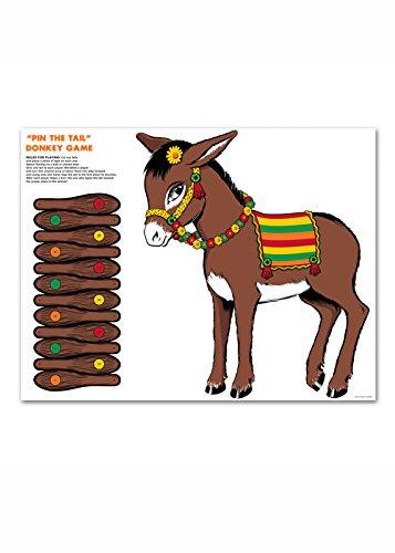 Épingler la queue sur l'âne, Party Game Struts Fancy Dress