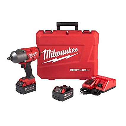 "Milwaukee M18 FUEL High Torque ½"" Impact Wrench with Friction Ring Kit - Atornillador de"
