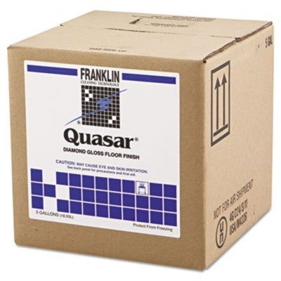 Franklin Cleaning Technology F136025 Quasar High Solids Floor Finish, 5gal Box