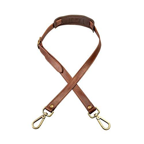 Maxwell Scott Bags - Bolso al hombro para hombre Marrón marrón talla única