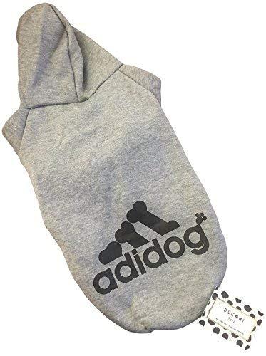 Ducomi Felpa per Cani Adidog con Cappuccio in Morbido Cotone M, Pink Spedizione dallItalia Vestito Cane Taglia XS 8XL e Ampia Scelta di Colori
