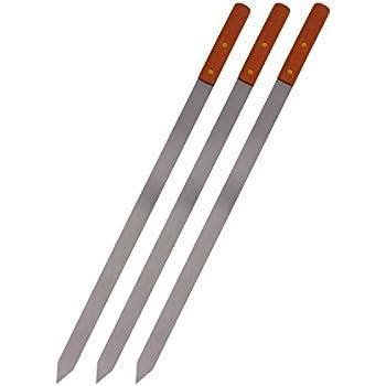 Amazon Com Premium Stainless Steel Wooden Handle Bbq