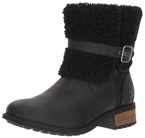 UGG Women's Blayre II Winter Boot, Black, 8.5 M US
