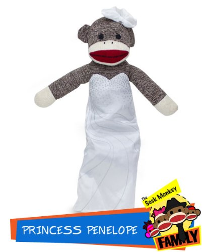 Sock Monkey Family Princess Penelope from The