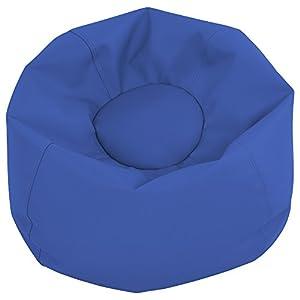 """ECR4Kids Junior Classic Bean Bag Chair, Blue (26"""")"""