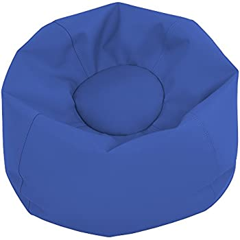ECR4Kids Junior Classic Bean Bag Chair Blue 26