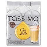 Tassimo Chai Tea Latte Single Serve T-Discs, 8 Chai Lattes