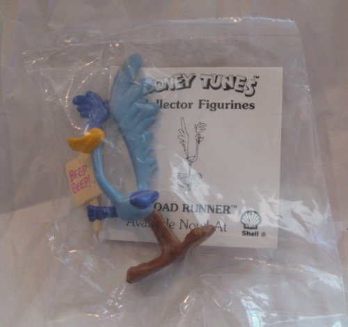 Looney Tunes Shell Gas Exclusive Road Runner PVC 3in Figurine