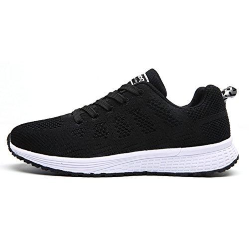 Adulto Running Zapatillas Unisex LFEU Negro Lona de de zRpwnCq