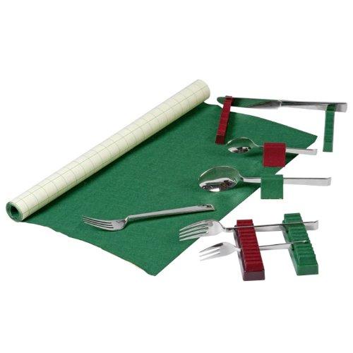 Gebr. Buchholz Besteckhalter grün für 70 Teile