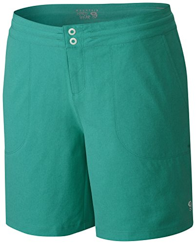 Mountain Hardwear Womens Right Bank Short  Glacier Green  Small X 7