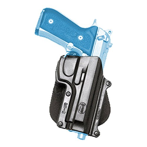 Fobus Roto Holster Paddle Left Hand BR2RPL Beretta 92/96 (Except Brig & Elite) / Taurus 92/99/101 / CZ75B 9mm