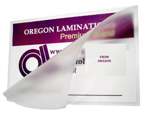 Legal Laminating Pouches 5 Mil 9 X 14-1/2 Qty 100 by Oregon Lamination Premium
