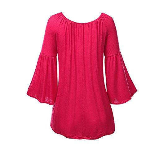 MTTROLI - Camisas - para mujer Hot Pink