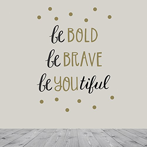 Paper Riot Co. Wall Decals Art Stickers for Inspirational Ro
