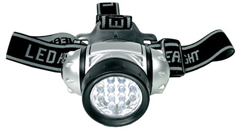 SW-Stahl torcia frontale LED con 12 LED, S9711