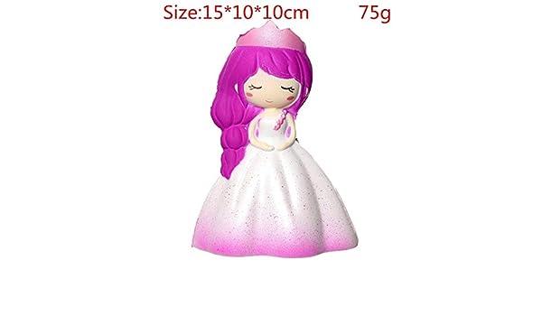 DishyKooker algodón de azúcar Jumbo Squishy Cute Unicorn Whale Cake Squishies Lenta Rising Crema perfumada Squeeze Toy teléfono Correa: Amazon.es: Hogar