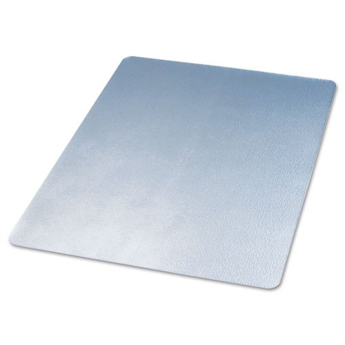 deflecto CM21442F 46 x 60 Clear EconoMat Anytime Use Chair Mat for Hard Floor