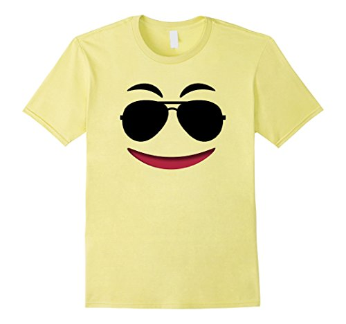 Mens Halloween Emoji Theme Shirt for Team Family Teachers Group XL Lemon - Group Themes For Halloween Costumes