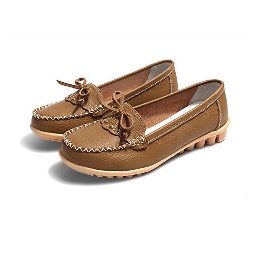 o del o Cuero de Primavera 2018 Zapatos oto Zapatos Guisantes Las del de Zapatos tama Madre de Ocasionales Verano Grandes Zapatos los la del Guisante Zapatos de del Mujeres Arco 7RxwqnUO