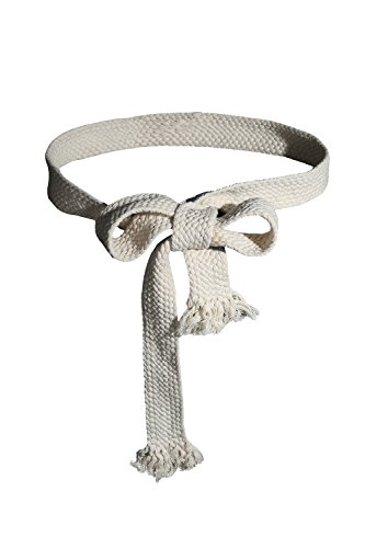 ByTheR Men's Fashion ByTheR Flat Rope Belt Gothic Onesize Vintage