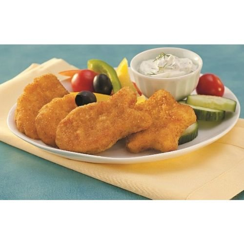 Trident Seafoods Ocean Treasure Oven Ready Whole Grain Pollock, 10 Pound - 1 each. (Fish Breaded)