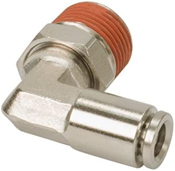 DOT Approved M 2 Pack VIAIR 11442 1//8 NPT to 1//4 Airline 90 Degree Swivel Elbow Fitting