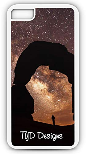 iPhone 8 Case Delicate Arch Arches National Park Moab Utah Customizable TYD Designs in White Plastic