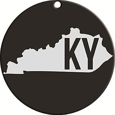 Carson Black Kentucky State Monogram Wind Chime Sail