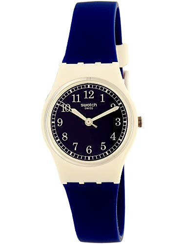 Swatch Women's Analogue Quartz Watch with Silicone Bracelet - LW152
